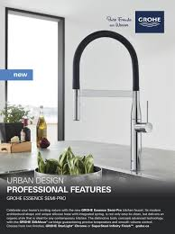 Grohe Essence Kitchen Faucet by Reno U0026 Decor Magazine Apr May 2017 By Homes Publishing Group Issuu