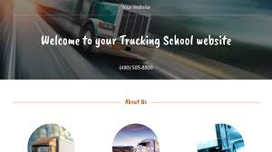 Trucking School Website Templates | GoDaddy Us Xpress Trucking School Locations Download Page Education Phoenix Arizona Ait Ntts Graduates Become Professional Drivers 04262017 Swift Reviews News Of New Car Release Us Car Carriers Driving An Open Highway Automotive Logistics Class A Cdl Traing Program Truck Cvtruck Central Valley United States From All Of At Progressive Programs Intertional Is Truck Driving School Worth It Roehljobs About Hds Institute Singhs Competitors Revenue And Employees