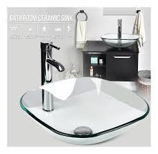 bad waschbecken wasserhahn pop up drain bad zubehör set combo square