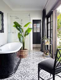 concrete tile floor design ideas