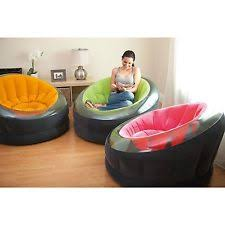 Intex Inflatable Sofa With Footrest by Intex Bean Bags And Inflatable Furniture Ebay