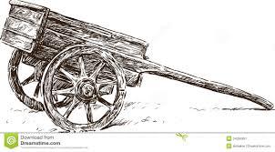 Wooden wheelbarrow Wheelbarrow Drawing