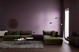 wandfarbe lila im wohnzimmer schöner wohnen