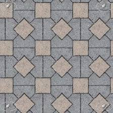 Paving Concrete Mixed Size Texture Seamless 05563