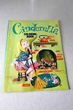 Vintage Edico CINDERELLA Coloring Book