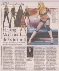 The Article Included Sketches Of Five Costumes From Show Report Can Be Read Online At Telegraphcouk Fashion