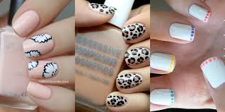 Nail Art Ideas For Short Nails - Manicures Designs For Shorter Nails 14 Simple And Easy Diy Nail Art Designs Ideas For Short Nails Art For Very Short Nails How You Can Do It At Home Very Beginners Cute Polka Dots Beginners 4 And Quick Tape Designs Design At Home Fascating Manicures Shorter Best How To Do 2017 Tips White Color Freehand Youtube Top 60 Tutorials Emejing Gallery