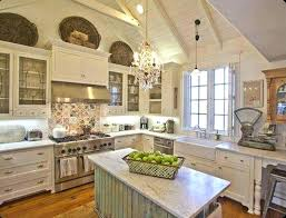 Shabby Chic Kitchen Cabinet Image Of White Cabinets For Sale