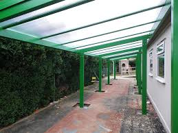 Palram Feria Patio Cover 13 X 20 by Aluminium Free Standing Canopy Lean To Patio Cover Carport