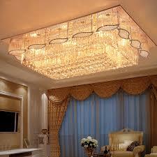 gold kristall decken le wohnzimmer plafonnier led deckenleuchte leuchte plafonnier led moderne plafondl decke lichter