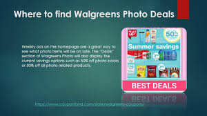 Walgreens Photo Coupon Codes, Promos And Deals, Walgreens Photo 2019