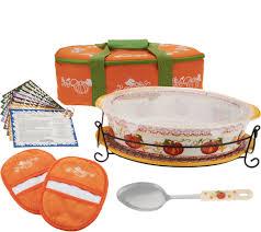 Canon City Pumpkin Patch by Temp Tations 3 Qt Pumpkin Patch Oval Baker W Lid It In Tote