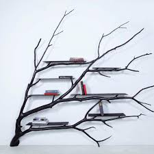 100 Tree Branch Bookshelves DIY Shelf Project Apartment Therapy