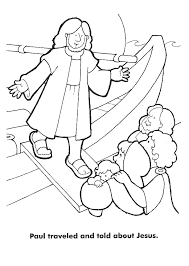 Apostle Paul Coloring Pages 12