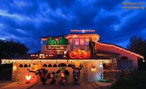 Halloween Blow Up Yard Decorations Canada by Alek U0027s 2007 Halloween Decorations U0026 Lights