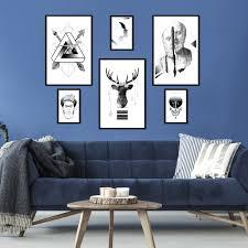 poster set druck galerie bilder flur abstrakt schwarz weiß