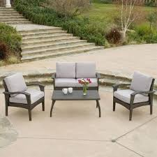 Patio Furniture Conversation Sets With Fire Pit by Home Decor Cool Patio Furniture Conversation Sets Perfect With