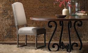 60 Inch Copper Verde Wrought Iron Dining Table