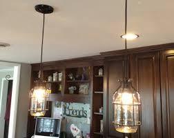 set of three jar lightssingle drop chandeliers