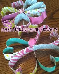 How To Make A Pretty Paper Flower Craft With Kids Woo Jr
