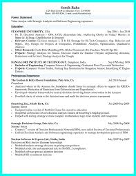Sample Computer Science Resume Projects Format For Lecturer