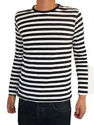 1960s 70s Mens Shirts Dress Mod Disco Turtleneck Striped Black