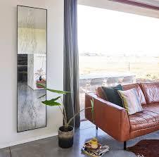 casa padrino designer wandspiegel schwarz 41 x 2 x h 174 cm wohnzimmer spiegel schlafzimmer spiegel badezimmer spiegel garderoben spiegel