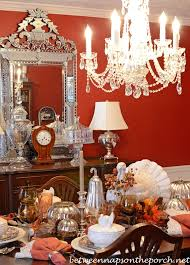 Dining Room Chandelier With Resin Candle Covers And