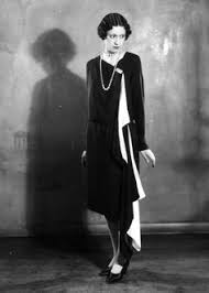 April 1927 A Model Wearing Solosigns Evening Dress In Black And White Photo By Sasha Getty Images Hva