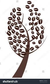 Tree Clipart Coffee Bean Pencil And In Color