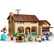 100 Simpsons House Plan LEGO 71006 The