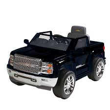 100 All Black Truck Amazoncom Rollplay W460C02 6 Volt Chevy Silverado Ride On