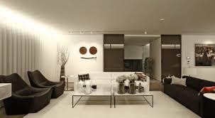 wohnzimmer modern mit indirekter deckenbeleuchtung und