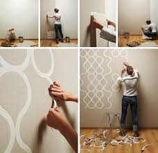 Cool Easy Wall Paint Designs Let Er Rip New Home Wallpaper For DIY Room Decor