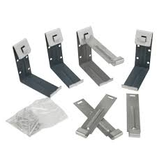 Amerimax Home Products 5 in Aluminum Fascia Brackets 4 Pack