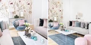 wohnzimmer lounge mit sommerlichen farbakzenten instashop