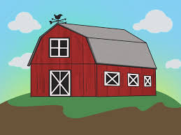How To Draw A Barn -- Via WikiHow.com | Learning How To Paint And ... Farm Animals Barn Scene Vector Art Getty Images Cute Owl Stock Image 528706 Farmer Clip Free Red And White Barn Cartoon Background Royalty Cliparts Vectors And Us Acres Is A Baburner Comic For Day Read Strips House On Fire Clipart Panda Photos Animals Cartoon Clipart Clipartingcom Red With Fence Avenue Designs Sunshine Happy Sun Illustrations Creative Market