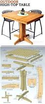 Pallet Patio Table Plans by Patio Ideas Wood Pallet Patio Furniture Plans Outdoor High Top