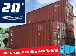 100 Big Truck Paper 2001 CONEX 20 STEEL SHIPPING CONTAINERS WWT STORAGE For Sale In