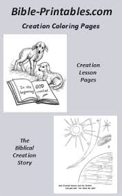 The Biblical Creation Story Coloring Pages