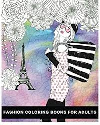 Buy Fashion Coloring Books For Adults Book Online At Low Prices In India
