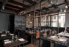 Restaurant Interior Design Industrial Environment Style Home