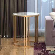 marmor gold metall 50x50x55cm zrxian kaffeetische 50cm