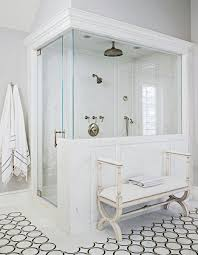 Mind-Blowing Master-Bath Showers   Traditional Home Bathroom Master Ideas Unique Fniture Home Design Granite Marvellous Walk In Showers Tile Glass Designs Interior Bath Shower From Cmonwealthhomedesign For A Gorgeous Double Gallery Bathrooms Thking About A Shower Remodel Ask Yourself These Questions To Get Unforeseen Remodel Redo Small Attractive Related To House With Large 24 Spaces Scarce Roman Space Saving Enclosures
