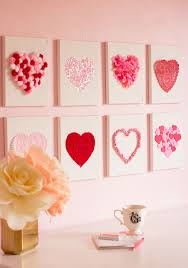 Raid Your Craft Supplies To Make This Heart Art For Valentines Day Or Year Round