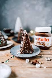 schoko haselnuss mini küchlein mit nutella schichten mit liebe gebacken
