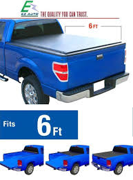 100 Toyota Truck Aftermarket Parts Amazoncom EZ Auto Low Profile RollUp Bed Tonneau Cover Fits