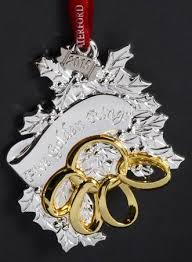 Waterford 12 Days Of Christmas Ornaments Five Golden Rings
