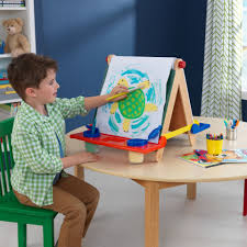 Toddler Art Desk Australia by Easels Kidkraft