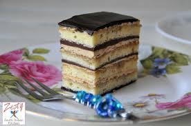 Opera cake Zesty South Indian Kitchen